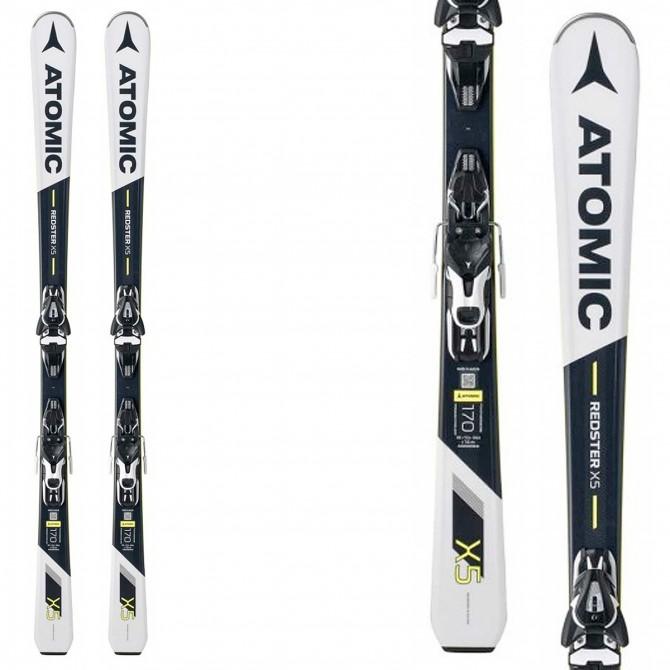 Ski Atomic Redster X5 + bindings Mercury 11