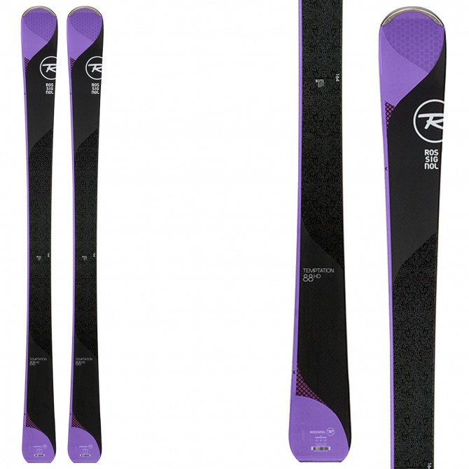 Ski Rossignol Temptation 88 HD + bindings Tyrolia Pr11