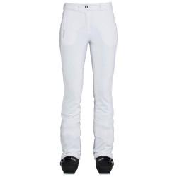 Pantalone sci Rossignol Softshell Donna bianco