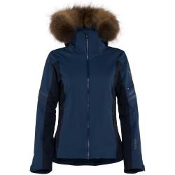 Ski jacket Rossignol Elite Woman blue