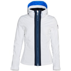 Giacca sci Rossignol Combes Donna bianco