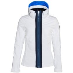 Veste ski Rossignol Combes Femme blanc