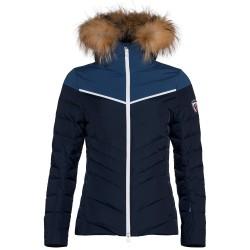 Veste ski Rossignol Major Femme bleu