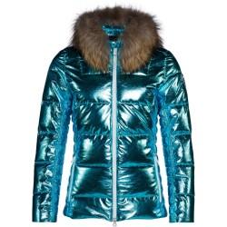 Veste ski Rossignol Aiguille Femme turquoise