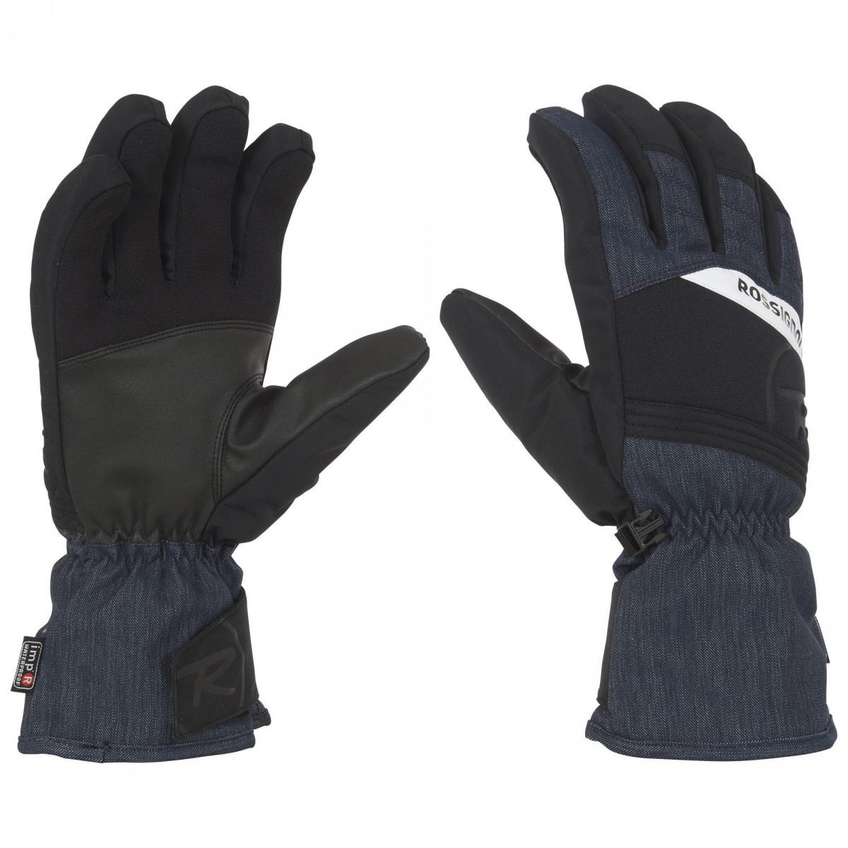 gants ski rossignol tech impr homme gants ski et snowboard. Black Bedroom Furniture Sets. Home Design Ideas
