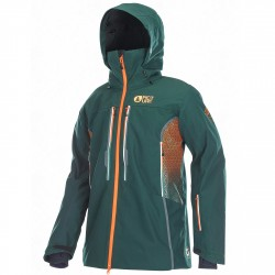 Freeride ski jacket Picture Track Man green