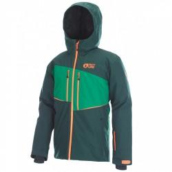 Freeride ski jacket Picture Object JKT Man green