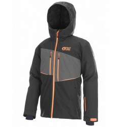 Freeride ski jacket Picture Object JKT Man black