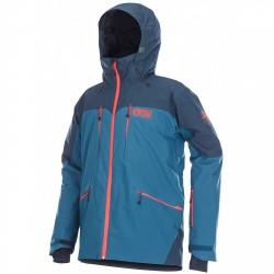 Freeride ski jacket Picture Naikoon Man blue