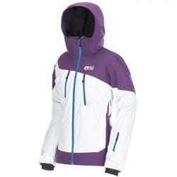 Freeride ski jacket Picture Ticket Woman white