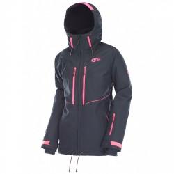 Freeride ski jacket Picture Exa Woman black