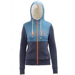 Sweat-shirt Picture Basement Plush Femme bleu