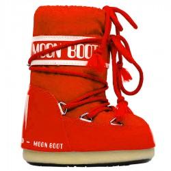 après ski Moon Boot Nylon rojo Baby