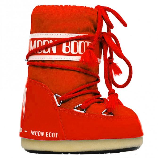doposci Moon Boot Nylon rosso Baby