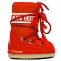 après ski Moon Boot Nylon red Baby