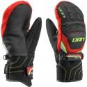 Moffole sci Leki WC Race Coach Flex Gtx Junior nero-rosso-bianco-giallo