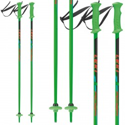 Ski poles Leki Rider Junior green