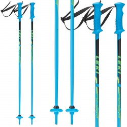 Ski poles Leki Rider Junior blue