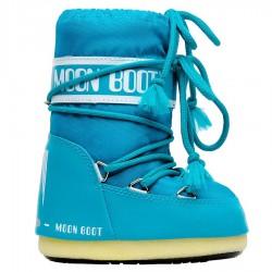 Après ski Moon Boot Nylon Baby turquesa