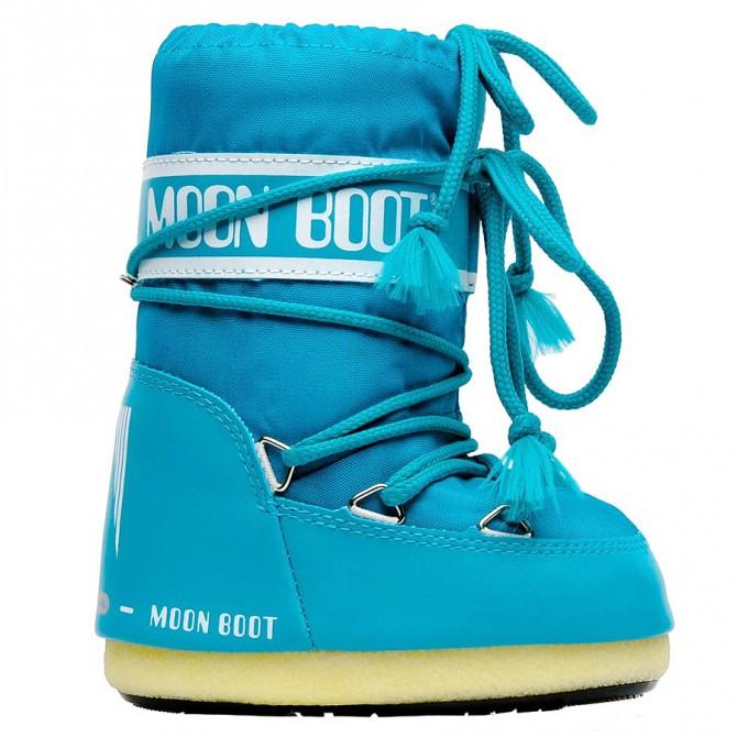 doposci Moon Boot Nylon turchese Baby