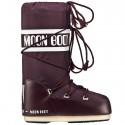 Après-ski Moon Boot Nylon Woman burgundy