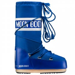 Après-ski Moon Boot Nylon Woman eletric blue