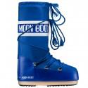 Après-ski Moon Boot Nylon Junior electric blue