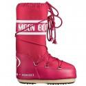 Après-ski Moon Boot Nylon Girl fucsia