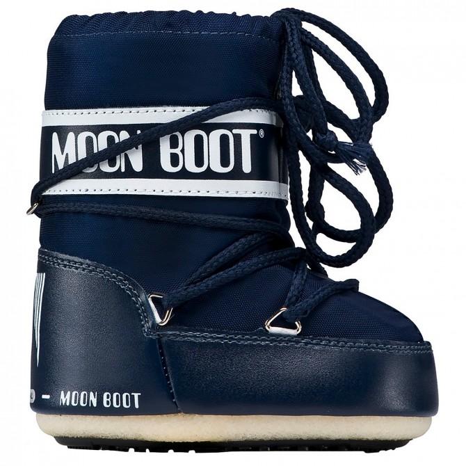 Doposci Moon Boot Nylon Baby blu (19-22) MOON BOOT Doposci bambino