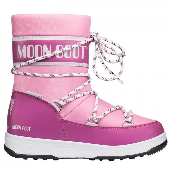 Après ski Moon Boot W.E. Sport Jr Wp Girl rose