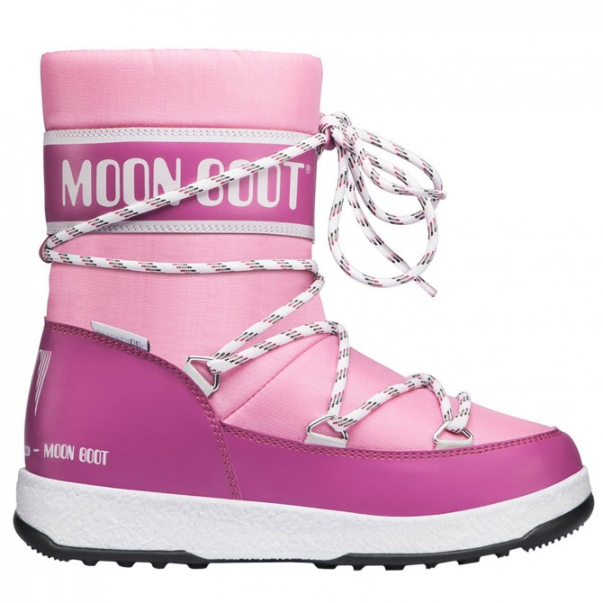 Doposci Moon Boot W.E. Sport Jr Wp Girl rosa MOON BOOT Doposci bambino