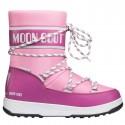 Après ski Moon Boot W.E. Sport Jr Wp Girl pink