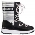 Après ski Moon Boot W.E. Quilted Jr Me Wp Girl plata