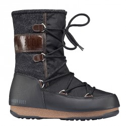 Après ski Moon Boot W.E. Vienna Felt Wp Woman black