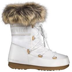 Après ski Moon Boot W.E. Monaco Low Wp Mujer blanco