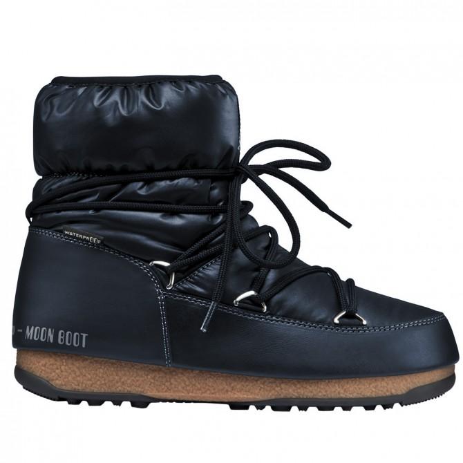 Après-ski Moon Boot W.E. Low Nylon Woman denim
