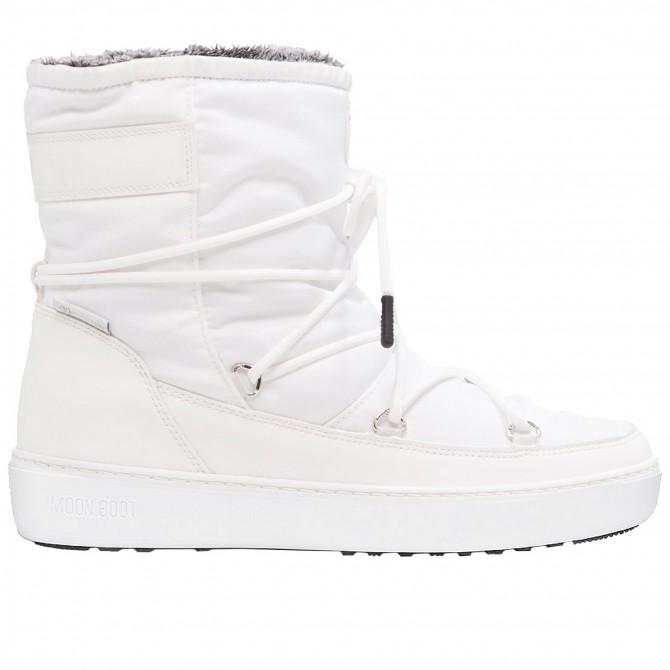 Doposci Moon Boot Pulse Nylon Plus Wp Donna bianco MOON BOOT Doposci donna