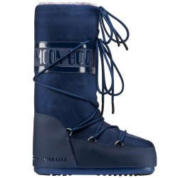 Après-ski Moon Boot Classic Plus Woman blue