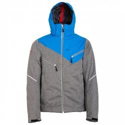 Giacca sci Bottero Ski Uomo grigio-blu fantasia