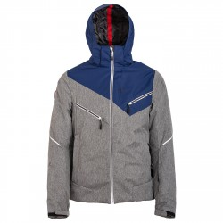 Giacca sci Bottero Ski Uomo grigio-blu