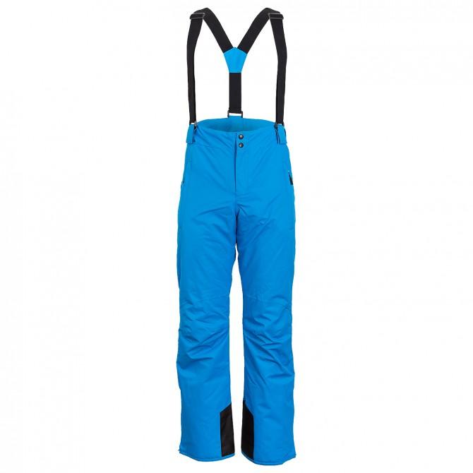 Salopette sci Bottero Ski Uomo blu fantasia
