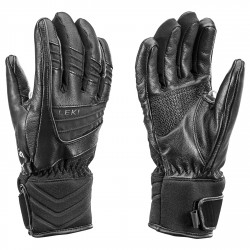Ski gloves Leki Griffin S Woman black
