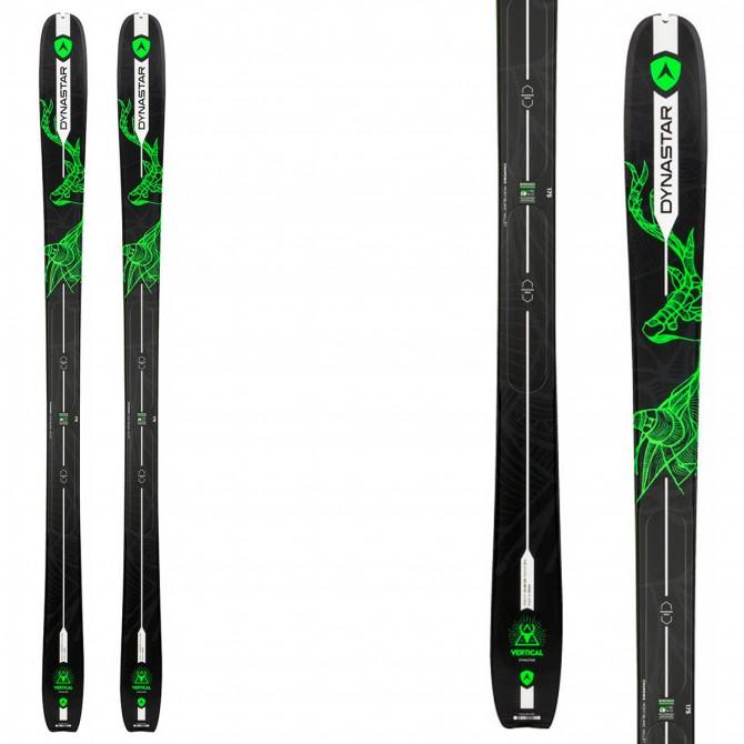 Sci Dynastar Vertical Deer nero-verde