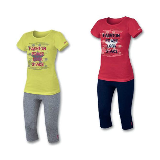 completo Astrolabio Girl t-shirt + pinocchietto