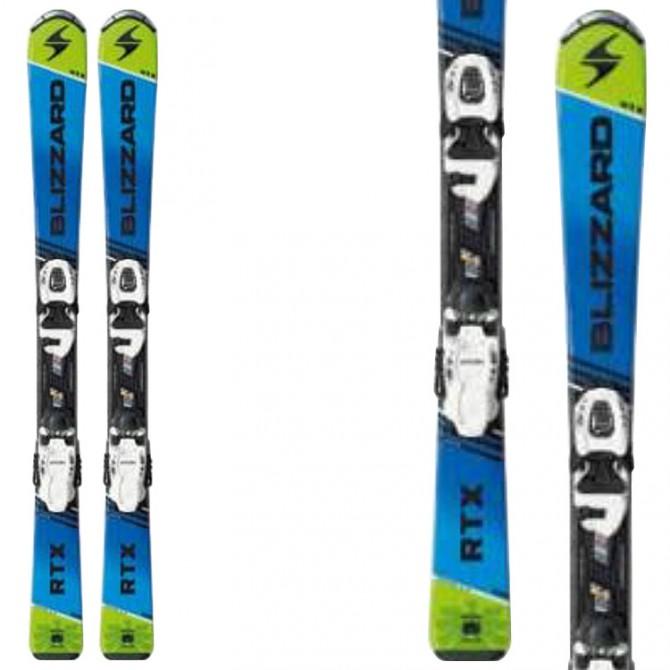 Ski Blizzard Rtx Jr XS + bindings Fdt Jr 4.5