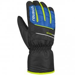 Ski gloves Reusch Snow King black-blue