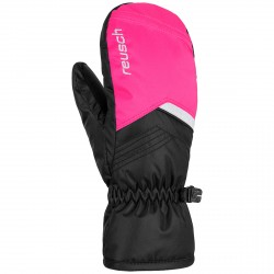 Ski mittens Reusch Bennet R-Tex® XT black-fuchsia