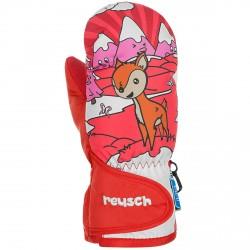 Ski mittens Reusch Snowy R-Tex® XT red