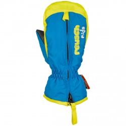 Mitones esquí Reusch Ben Baby royal-amarillo