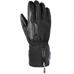 Ski gloves Reusch Powerline Stormbloxx black